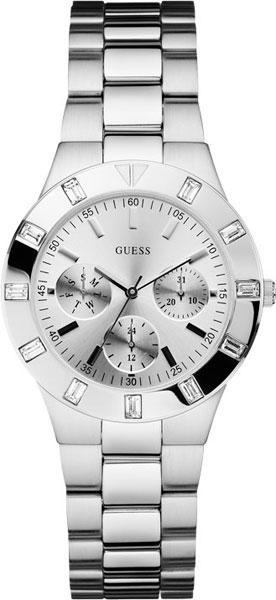 Купить Наручные часы W11610L1  Женские наручные fashion часы в коллекции Sport Steel Guess