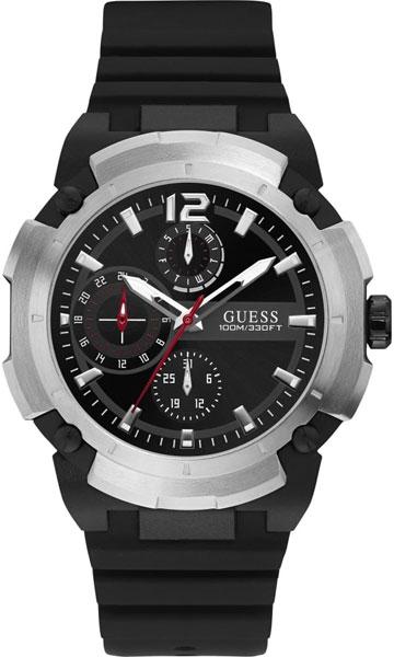 купить Мужские часы Guess W1175G1 по цене 6410 рублей