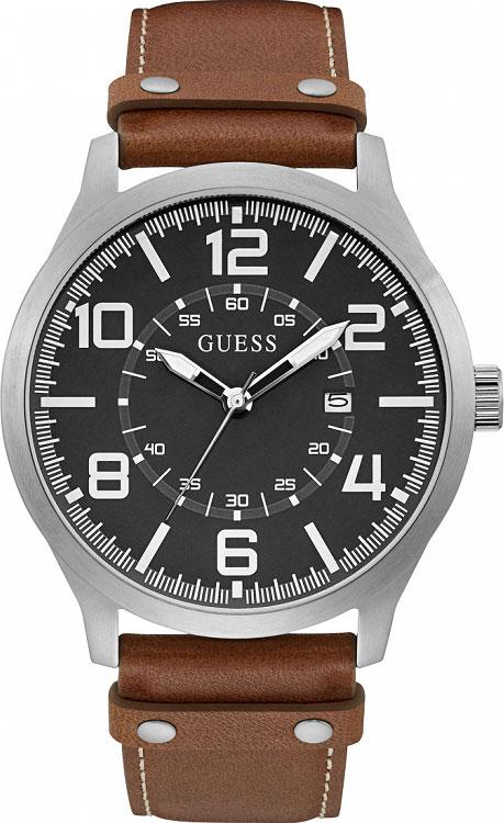цена Мужские часы Guess W1301G1 онлайн в 2017 году