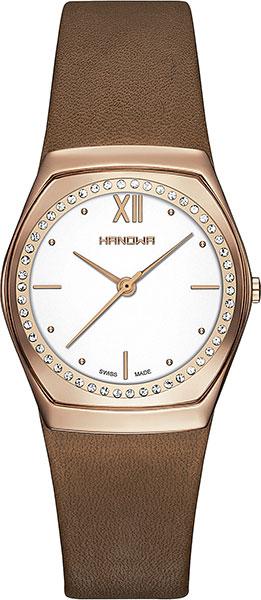 Женские часы Hanowa 16-6062.09.001 дизайн панков турецкий браслеты для глаз для мужчин женщины новая мода браслет женский сова кожаный браслет камень