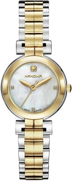 Женские часы Hanowa 16-8006.55.001 женские браслеты jv женский серебряный браслет с куб циркониями br h0150 001 wg 18