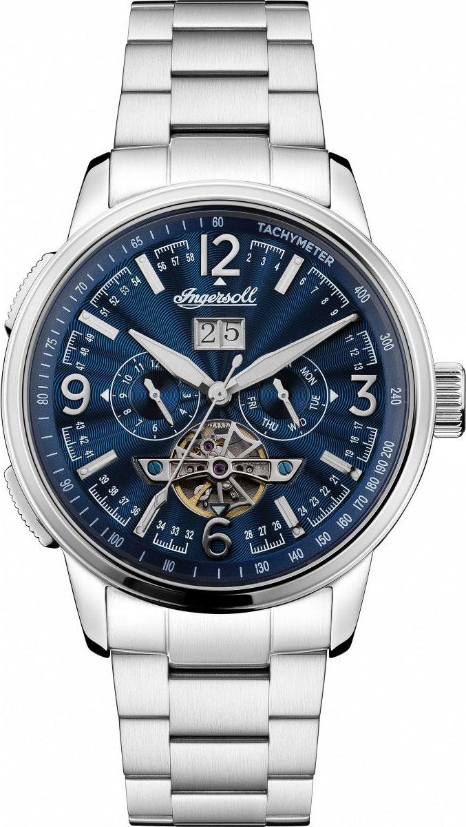 Фото - Мужские часы Ingersoll I00305 часы опаздывать нельзя