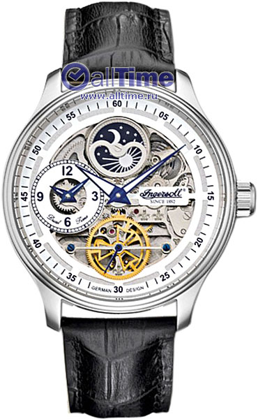 Мужские часы Ingersoll IN2705WH ingersoll часы ingersoll in2811bkyl коллекция automatic gent
