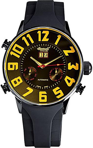 Мужские часы Ingersoll IN2811BKYL ingersoll часы ingersoll in2811bkyl коллекция automatic gent