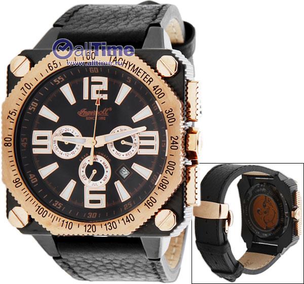 Мужские часы Ingersoll IN3204BKR часы наручные ingersoll часы in1620bkor коллекция bison