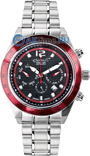 Мужские часы Ingersoll IN4104RDBK головка ingersoll rand s64m26l ps1
