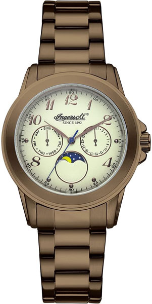 Мужские часы Ingersoll INQ020CMBR ingersoll in2809wh
