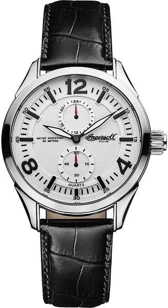 Мужские часы Ingersoll INQ028WHBK браслет красцветмет золотой браслет ndнб 12 028 d 0 60 17
