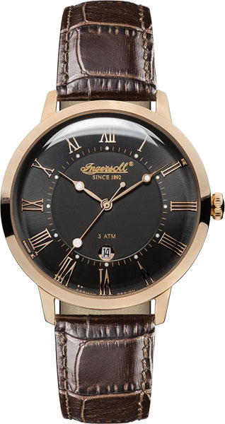 Мужские часы Ingersoll INQ043BKRS ingersoll часы ingersoll in2811bkyl коллекция automatic gent