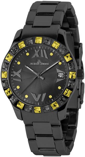 Женские часы Jacques Lemans 1-1517T jacques lemans rome 1 1841zc