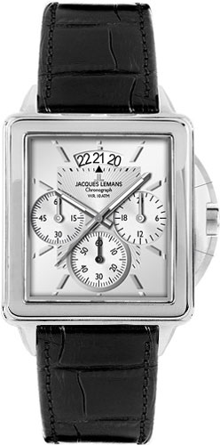 Мужские часы Jacques Lemans 1-1539B-ucenka мужские часы jacques lemans 1 1691ze ucenka