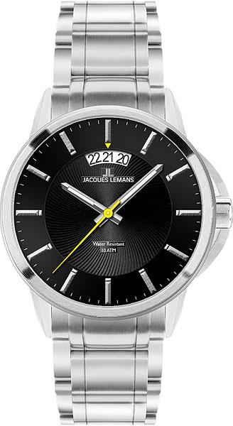 Мужские часы Jacques Lemans 1-1540D jacques lemans часы jacques lemans 1 1540d коллекция sydney