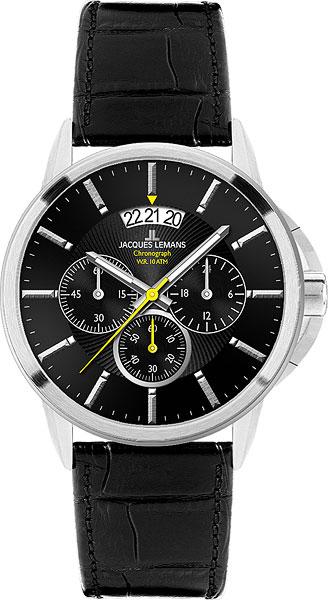 76cf544a Jacques Lemans 1-1542A – купить наручные часы, сравнение цен ...