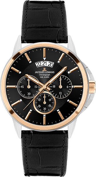 Мужские часы Jacques Lemans 1-1542C цена и фото