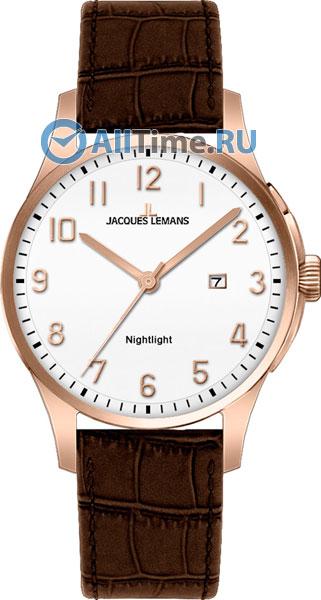 Мужские наручные швейцарские часы в коллекции Classic Jacques Lemans