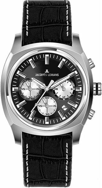 Мужские часы Jacques Lemans 1-1556A копии швейцарских часов омега