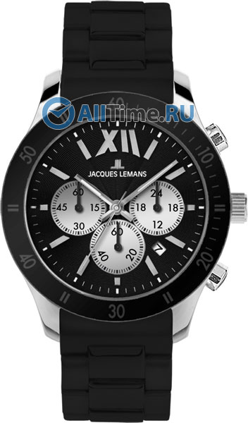 Купить Наручные часы 1-1586A  Мужские наручные швейцарские часы в коллекции Sports Jacques Lemans