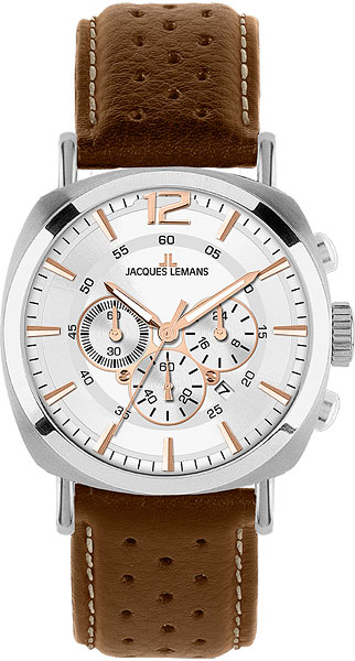 Мужские часы Jacques Lemans 1-1645D jacques lemans lugano 1 1645l