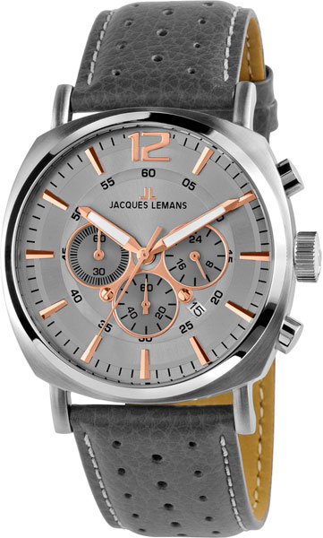 Мужские часы Jacques Lemans 1-1645L jacques lemans lugano 1 1645l