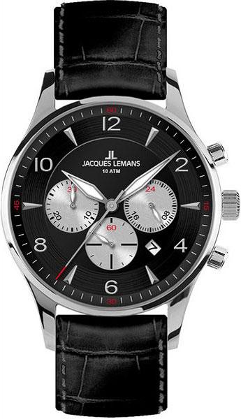 Мужские часы Jacques Lemans 1-1654A jacques lemans jl 1 1654a