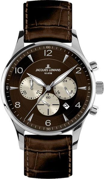 Мужские часы в коллекции Classic Мужские часы Jacques Lemans 1-1654D фото