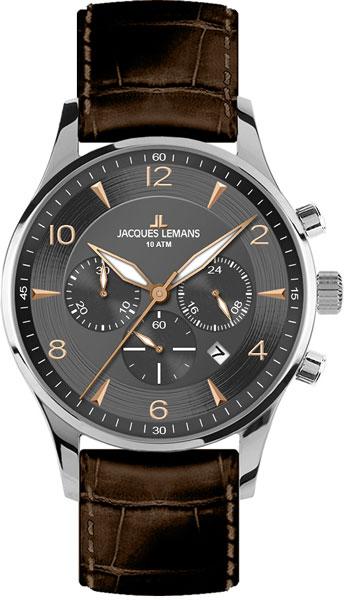 Мужские часы Jacques Lemans 1-1654F jacques lemans jl 1 1654f