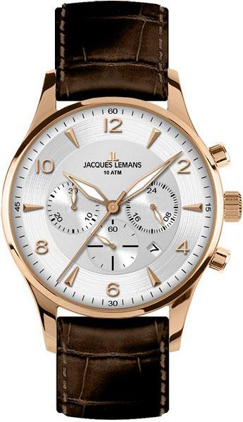 Мужские часы Jacques Lemans 1-1654H jacques lemans jacques lemans 1 1654h