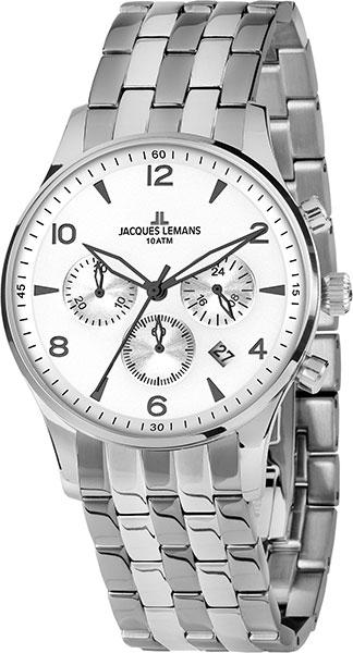 Фото «Наручные часы Jacques Lemans 1-1654ZF с хронографом»