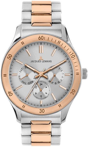 Мужские часы Jacques Lemans 1-1691ZI jacques lemans rome 1 1691zi