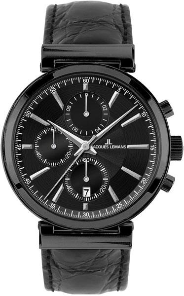 цена Мужские часы Jacques Lemans 1-1699C онлайн в 2017 году