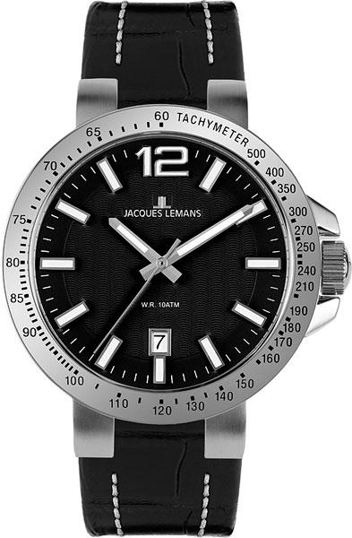 цена Мужские часы Jacques Lemans 1-1718A-ucenka онлайн в 2017 году