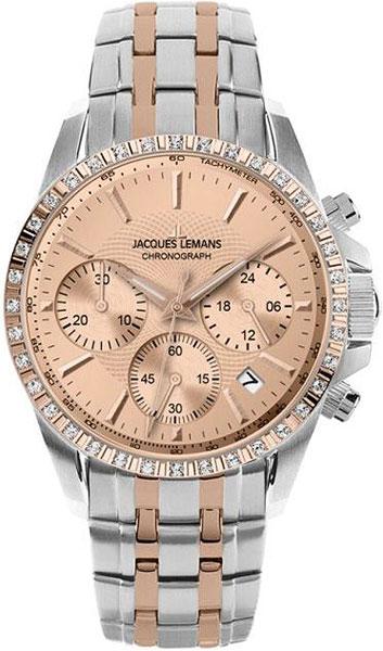Женские часы Jacques Lemans 1-1724D-ucenka женские часы elle time 20245s10x ucenka