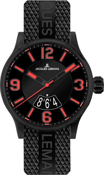 Мужские часы Jacques Lemans 1-1729F-ucenka мужские часы jacques lemans 1 1691ze ucenka