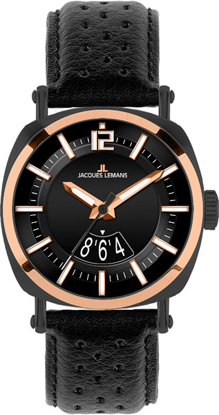 Мужские часы Jacques Lemans 1-1740G ремешок на руку d