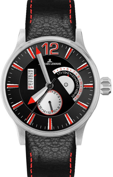 Мужские часы Jacques Lemans 1-1741I-ucenka женские часы elle time 20245s10x ucenka