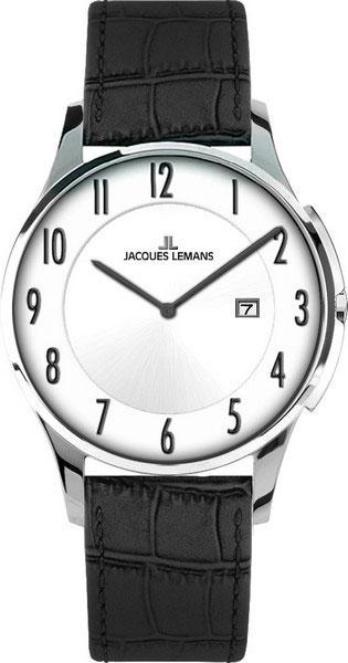 цена Мужские часы Jacques Lemans 1-1777C-ucenka онлайн в 2017 году