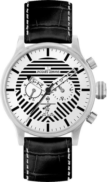Мужские часы Jacques Lemans 1-1795B цена и фото