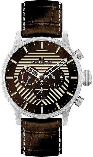 цена Мужские часы Jacques Lemans 1-1795D