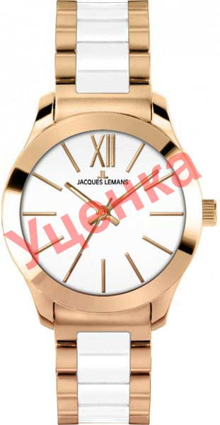 Женские часы Jacques Lemans 1-1796D-ucenka женские часы jacques lemans 1 1662i ucenka