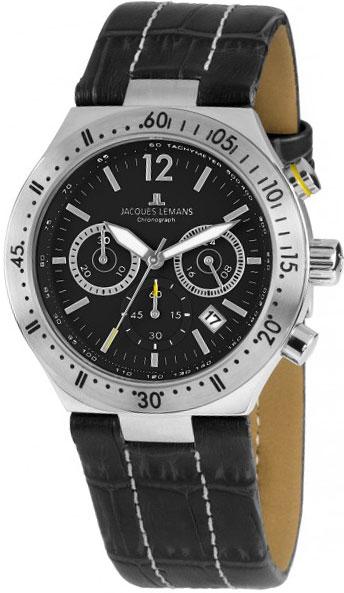Мужские часы Jacques Lemans 1-1837A u7 2016 новая мода силиконовая и нержавеющая сталь браслет мужчины изделий 18k позолоченный браслеты