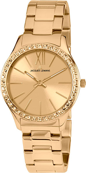 Женские часы jacques lemans 1-1841zc