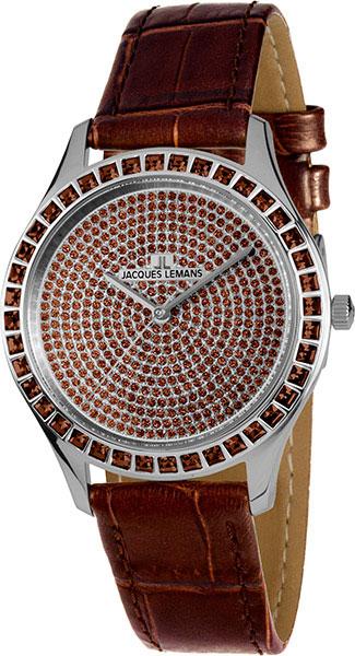Женские часы Jacques Lemans 1-1841ZG цена и фото
