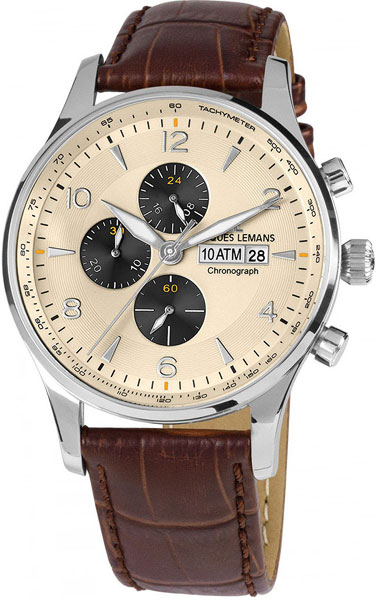 Мужские часы Jacques Lemans 1-1844C