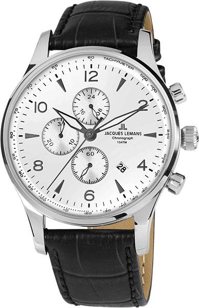 цена Мужские часы Jacques Lemans 1-1844ZB онлайн в 2017 году