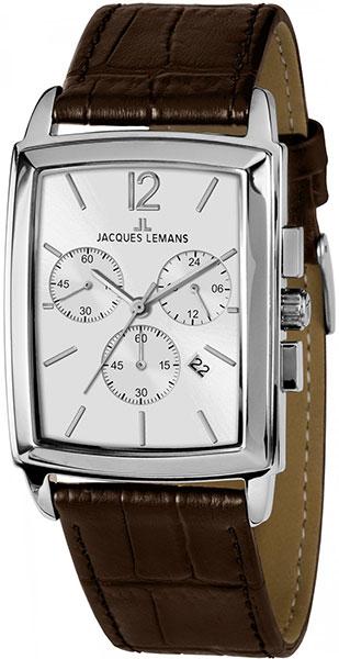 Мужские часы Jacques Lemans 1-1906B jacques lemans jl 1 1906b