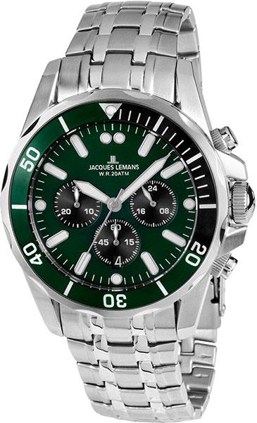 цена Мужские часы Jacques Lemans 1-1907ZG-ucenka онлайн в 2017 году