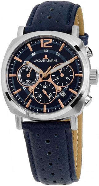 цена Мужские часы Jacques Lemans 1-1931C онлайн в 2017 году