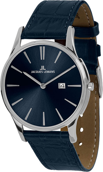 Мужские часы Jacques Lemans 1-1936C jacques lemans часы jacques lemans 1 1777n коллекция london