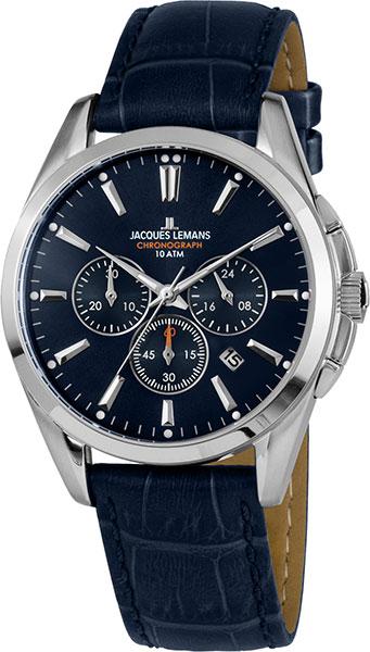цена Мужские часы Jacques Lemans 1-1945B-ucenka онлайн в 2017 году