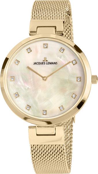 Фото - Женские часы Jacques Lemans 1-2001D кольца swarovski 5412018 17